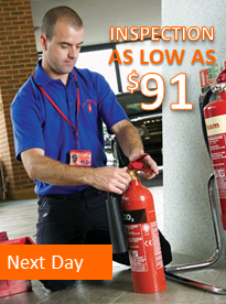 Fire Extinguisher Inspection Next Day Service