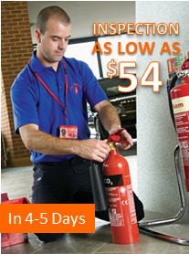 Fire Extinguisher Inspection Service in 4 to 5 Days