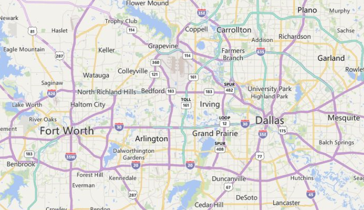 Greater Dallas Map.Fire Extinguisher Compliance Dallas Fort Worth Tx Pyroweb